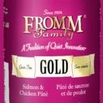 13oz. Fromm Gold Salmon/Chicken Pate Dog Food
