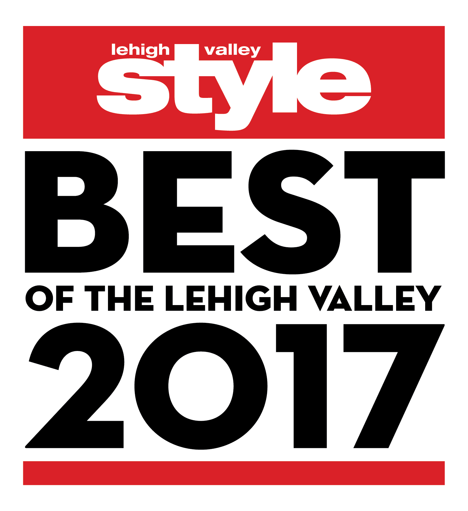 LeHigh Valley Style - Best of the LeHigh Valley 2017 Logo - Dog Boarding Services