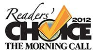 The Morning Call 2012 Reader's Choice Logo - Dog Grooming & Boarding