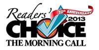 The Morning Call 2013 Reader's Choice 10th Anniversary Logo - Dog Training Classes