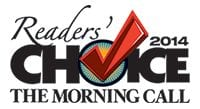 The Morning Call 2014 Reader's Choice Logo - Dog Grooming Services