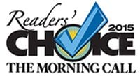 The Morning Call 2015 Reader's Choice Logo - Dog Training
