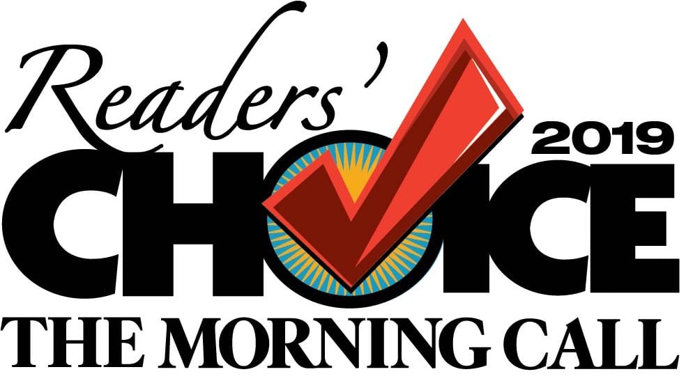 The Morning Call 2019 Reader's Choice Logo for elite dog grooming and training