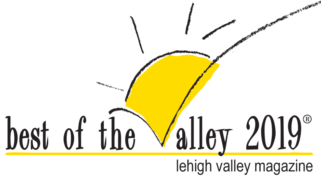 Lehigh Valley Magazine's Best of the Valley 2019 logo for dog training, boarding, and grooming